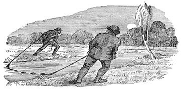 Poachers netting trout