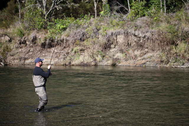 Fly Fishing On The TT River